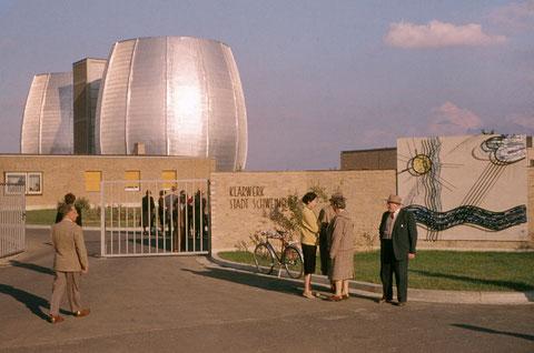 September 1960 - Eröffnung der Kläranlage