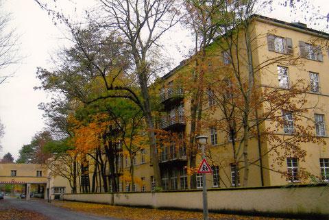 Das alte Städt. Krankenhaus