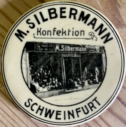 Reklamespiegel des Kaufhauses Silbermann