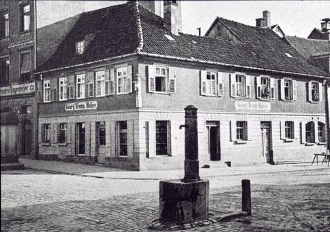 Ecke Kornmarkt/Bauerngasse