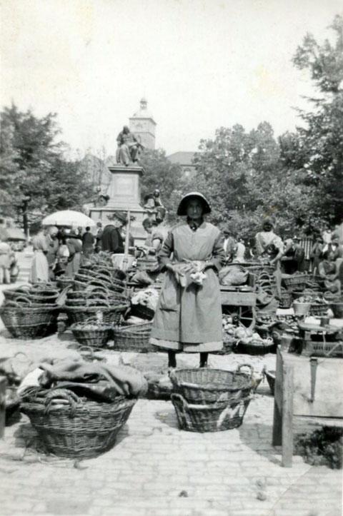 Marktfrau - Danke an Peter Wiegand