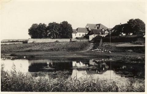 Der Badeplatz am Sennfelder See um 1935