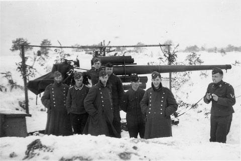 Flak bei Geldersheim 1944