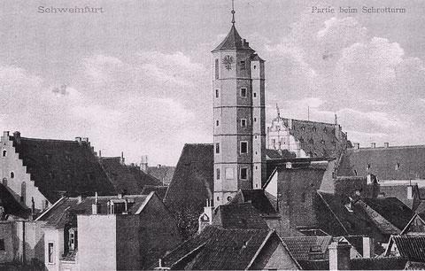 Der Schrotturm ca. 1905