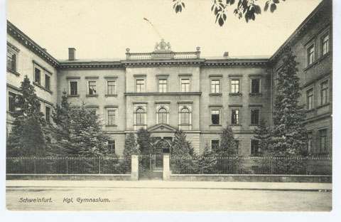 Kgl. Gymnasium 1910