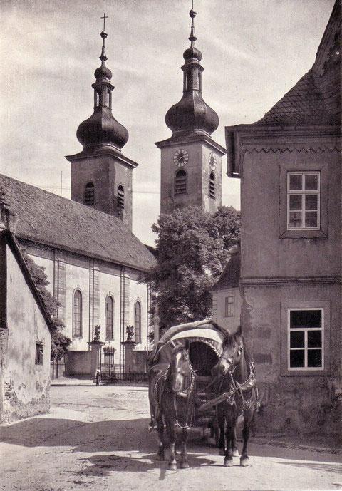 1926 an der Kirche