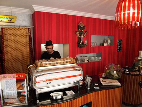 KultCafe Barista in der Judengasse