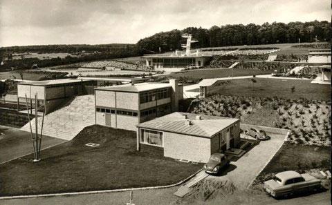 Sommerbad nach seiner Fertigstellung 1958