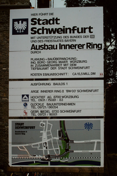 Bau des Paul-Rummert-Rings 1981