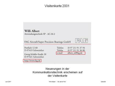Berichte von Zeitzeugen - Willi Albert - Schweinfurtführer - Ein ...