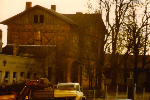 Das einstige Schützenhaus an der Deutschhöfer Straße