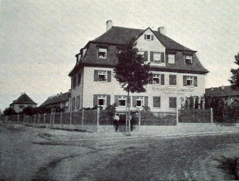 Gartenstadtstraße 1 - 1927 - Laden des Konsumvereins - Verkaufsstelle 11