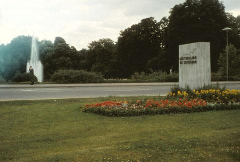 Juni 1966 - Eingang Wehranlagen