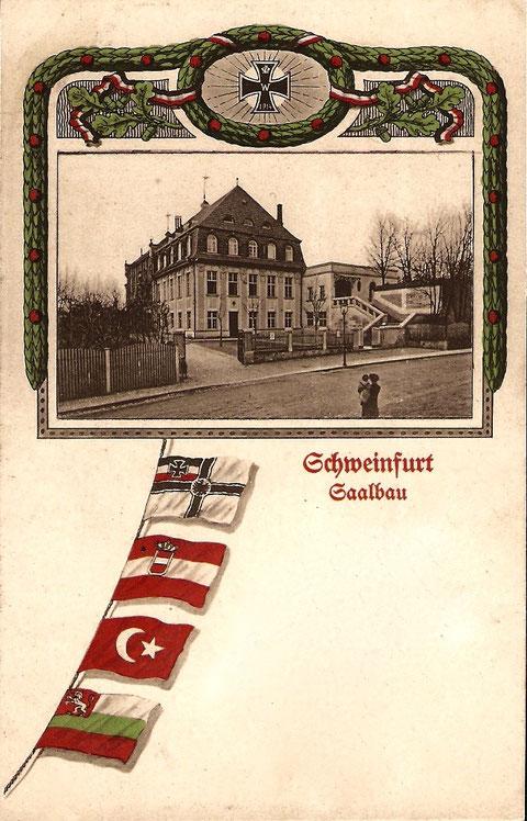 ca, 1916 - Blick auf Neutorstraße und Saalbau