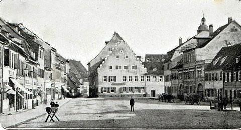 Kornmarkt 1898 - Danke an Andreas Hedler