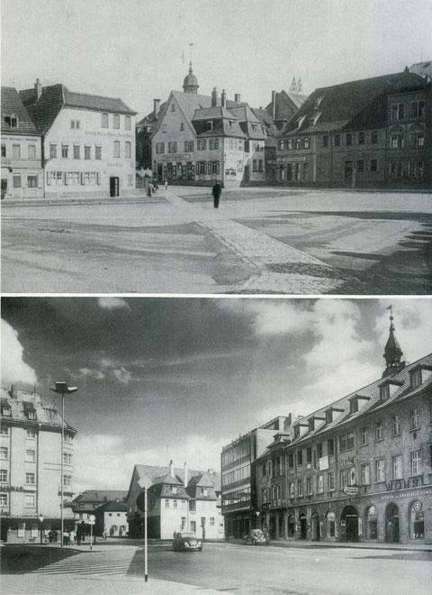 """Roßmarkt """"vorgestern und gestern"""""""