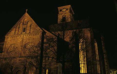 Dezember 1965 - Johanniskirche bei Nacht