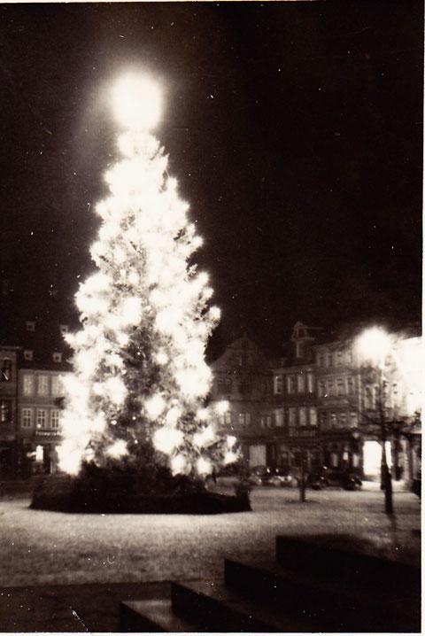 Weihnachten auf dem Marktplatz 1936