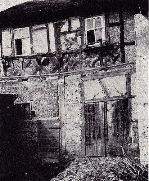 Nördlicher Flügelbau des Hauses Nr. 50