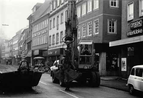 Spitalstraße - Jahr unbekannt - Danke an Frau Christel Feyh