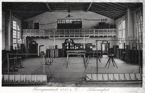 Im Saal der alten Turngemeinde am Obertor