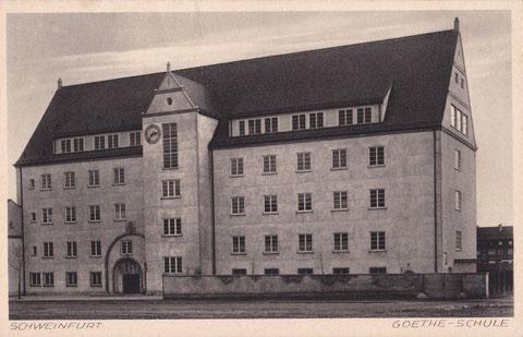Goetheschule - Alte Ansicht