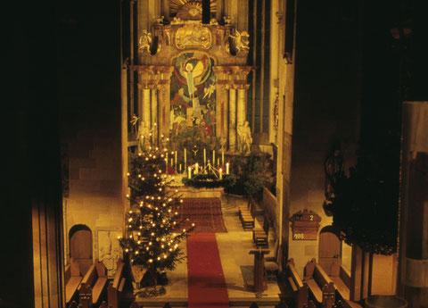 Dezember 1965 - Altar in der Johanniskirche