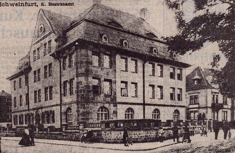 Bezirksamt Schweinfurt in der Theresienstraße 2