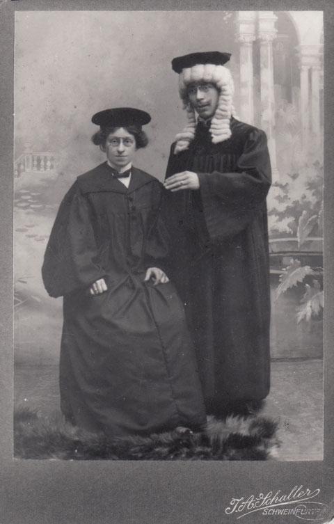 Ehemann von Rosa Brändlein und Freund