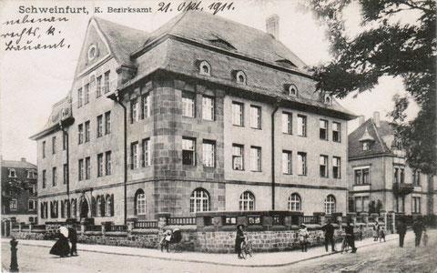 Oktober 1911 - Theresienstraße 2