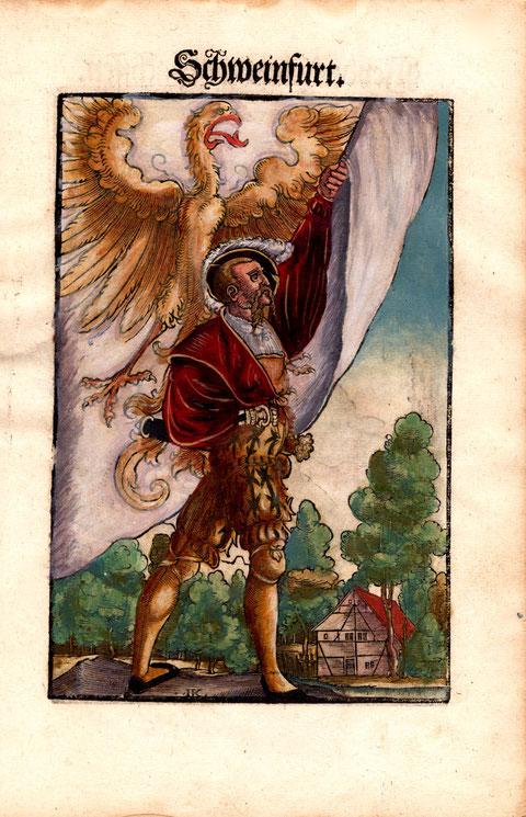 Schweinfurter Fahnenschwinger 1579