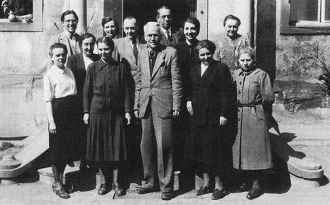 Das Lehrerkollegium im Jahre 1946