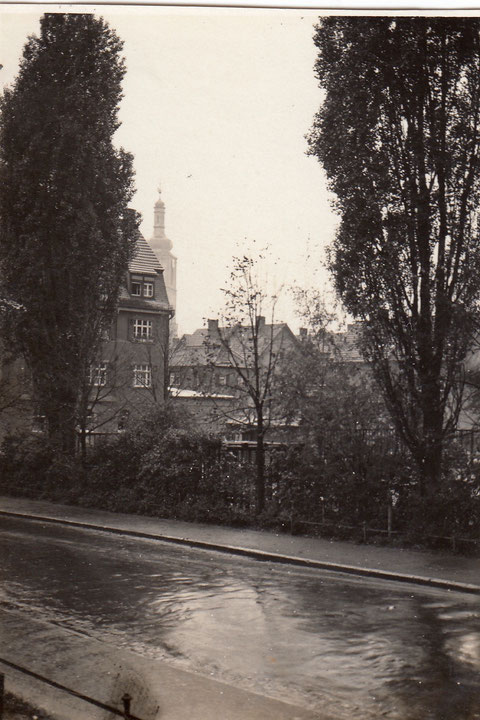 Blick von der Seestraße zur alten Kilianskirche - Danke an Georg Tellert