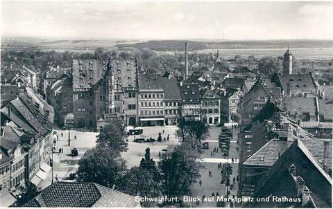 Der Marktplatz um 1936 - vergrößerbar!