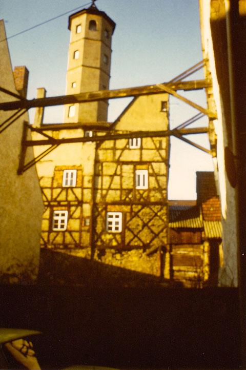 Schrotturm 1954