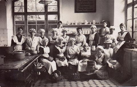 Oktober 1919 Mädchenschule Pensionat f. höhere Töchter Schweinfurt