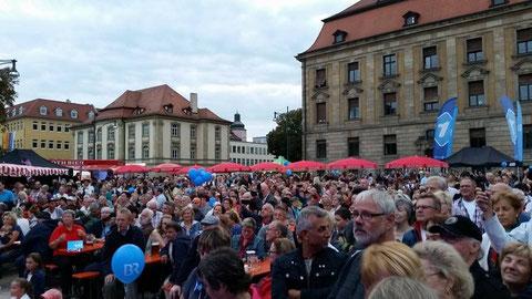 Stadtfest am Schillerplatz 2014 Foto: Volker Reinhard