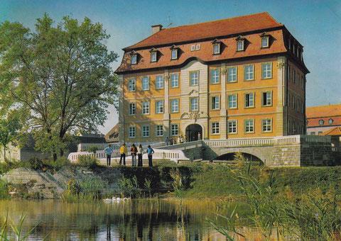 Schloß Gleisenau - Ebelsbach - Ausbildungszentrum der Fa. Kugelfischer Gg Schäfer & Co