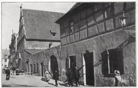 Schranne und Brauhaus am Roßmarkt