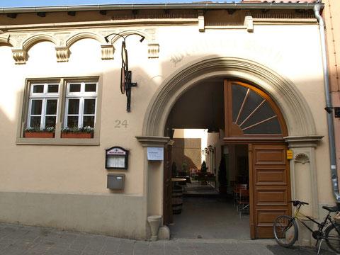 Eingang zum Roth`schen Haus heute