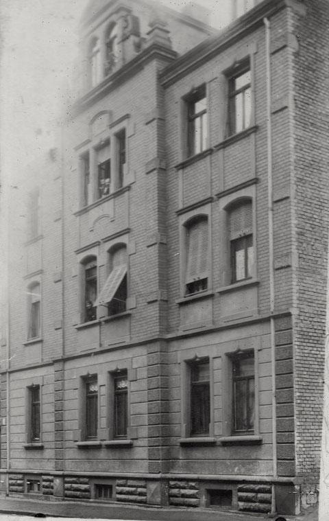 unbekanntes Haus in Schweinfurt - Vorkriegszeit - wer kennt's?