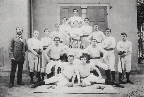 Riege im Jahr 1898