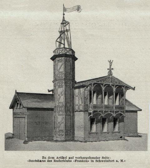 Aus Süddeutscher Bauzeitung v. 30.07.1898