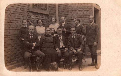 An den Schanzen 12 - Pfingstgäste im Jahre 1916