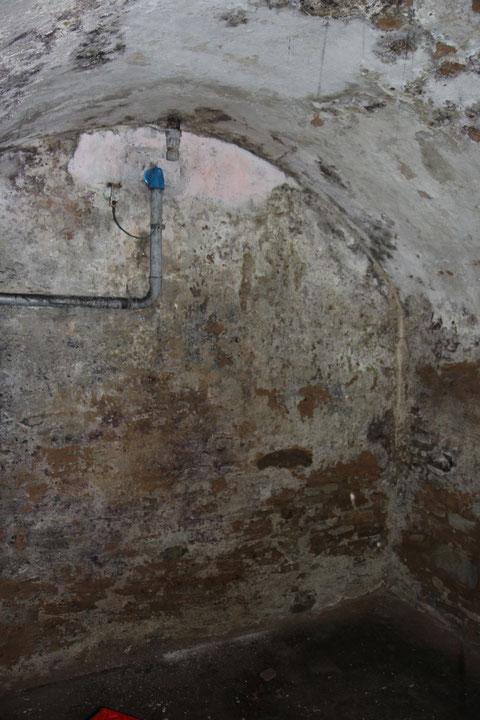 Das Ende des zweiten Gewölbekellers