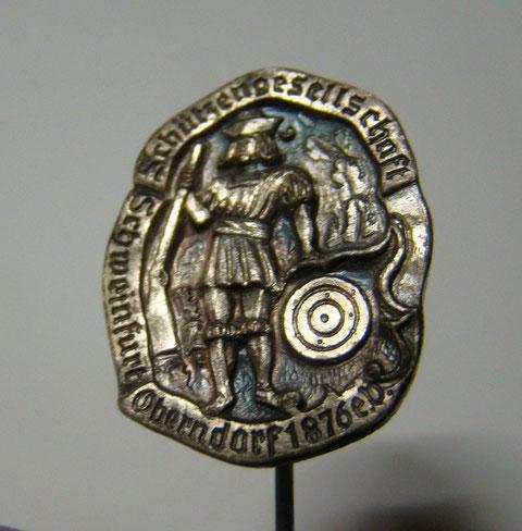 Anstecker der 1876 gegründeten Schützengesellschaft Oberndorf