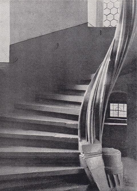 Treppenhaus Lebküchner-Haus Hadergasse 39 - Vorkriegszeit