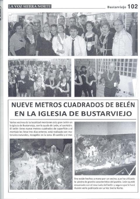 REVISTA LA VOZ DE LA SIERRA NORTE FIESTA DE NOCHEVIEJA ANTICIPADA 2009