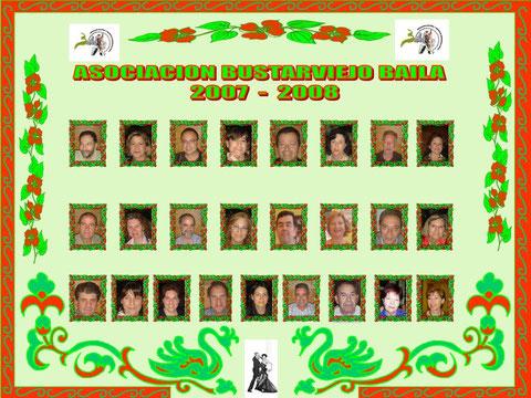 miembros de BustarviejoBaila en 2008