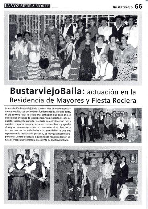 LA REVISTA LA VOZ DE LA SIERRA NORTE PUBLICA NUESTRAS ÚLTIMAS ACTIVIDADES MAYO-2013